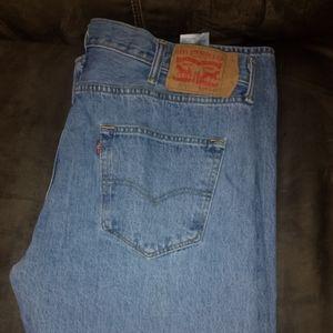 Men's Levis 501 Jeans 38/32